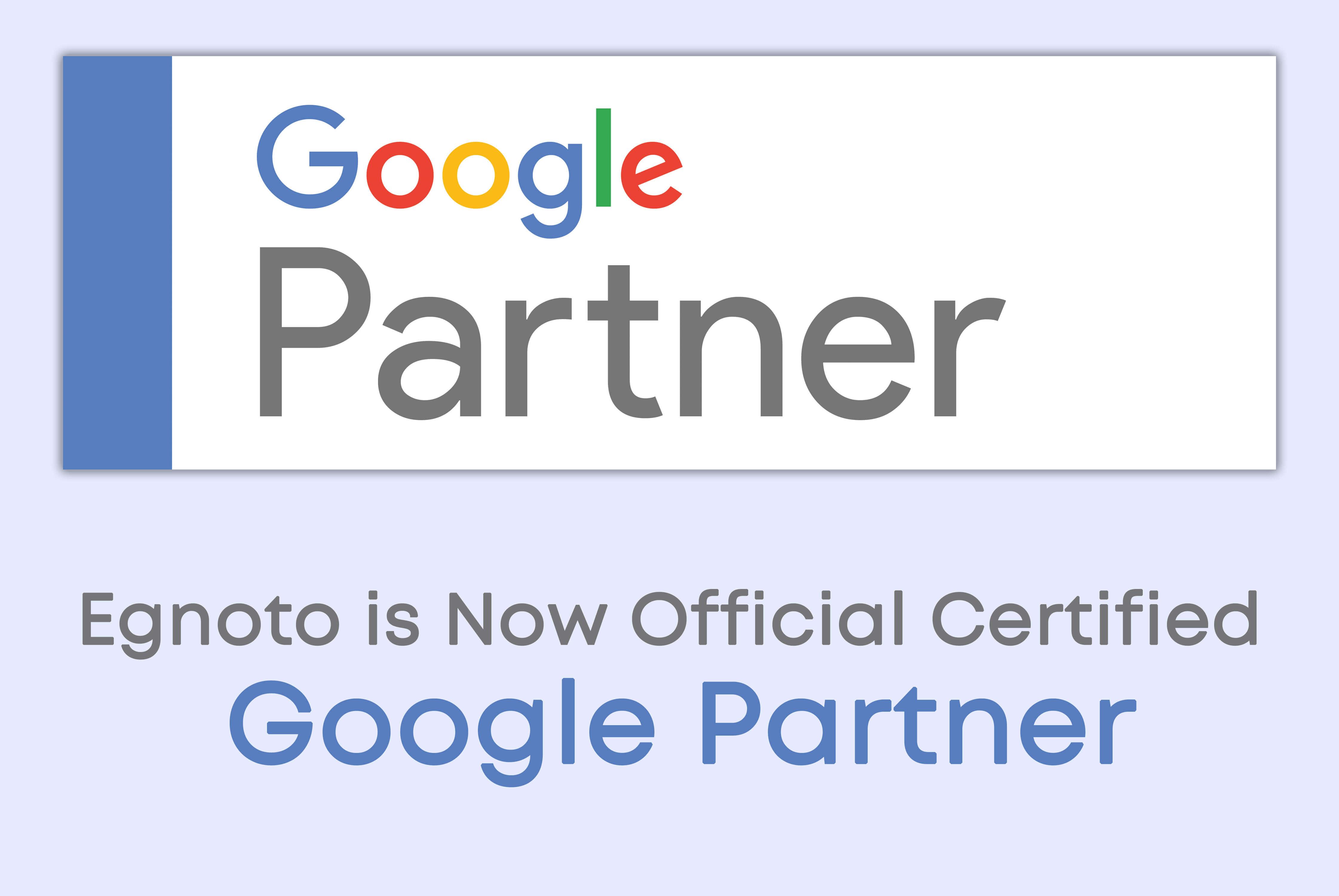 Egnoto - Official Certified Google Partner